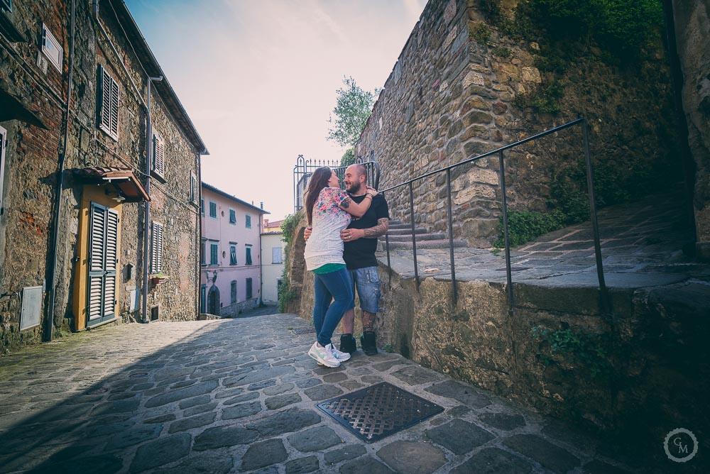 fotografia di coppia a montecatini alto