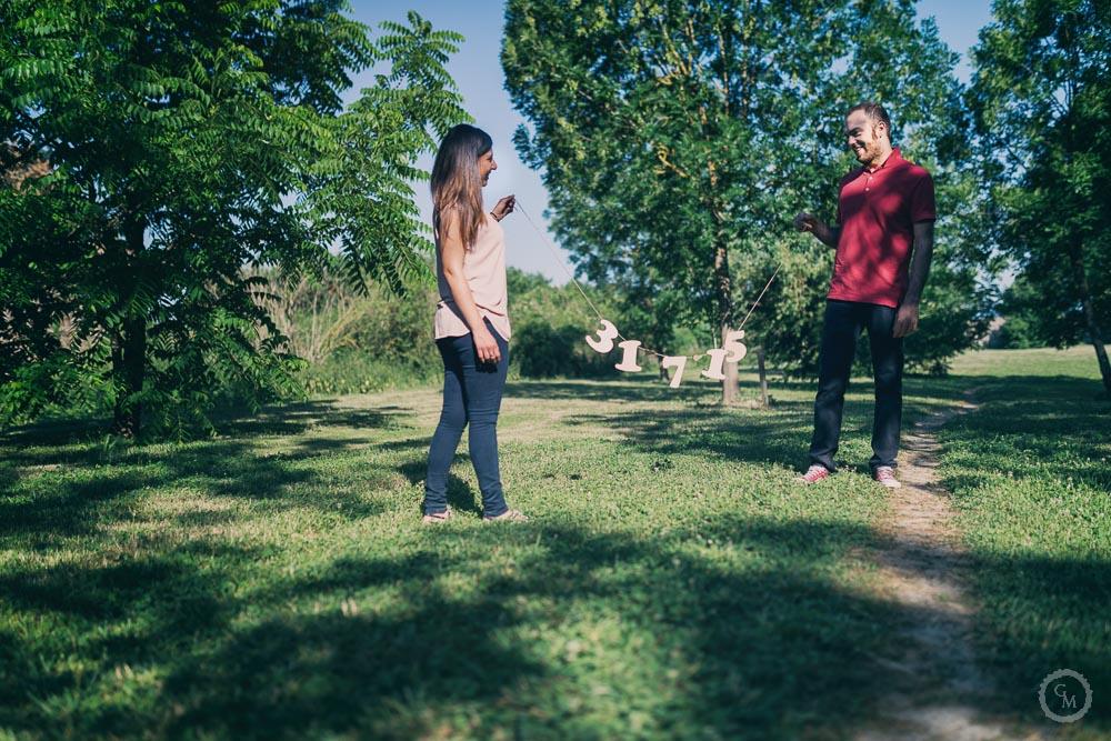 Engagement parco Villa Medicea Poggio a caiano