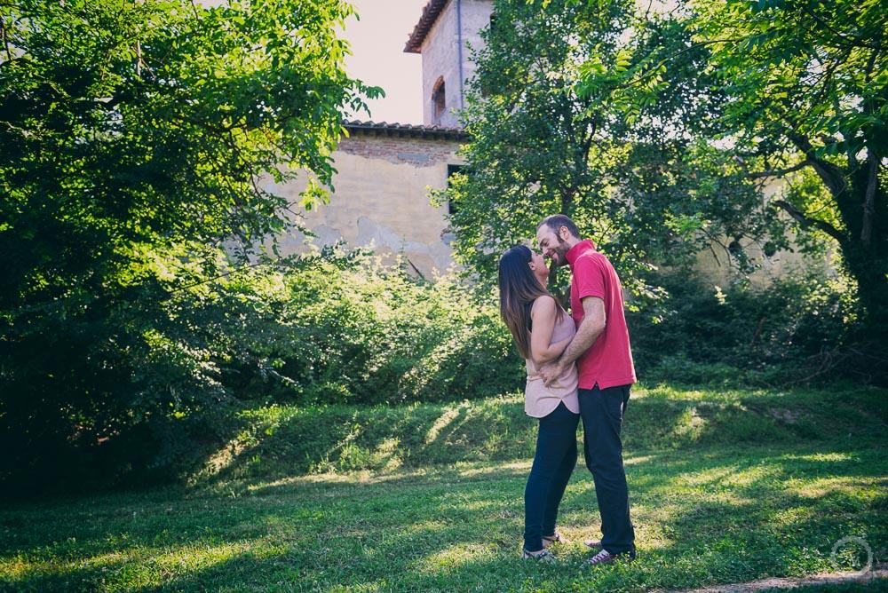 Engagement photo Prato