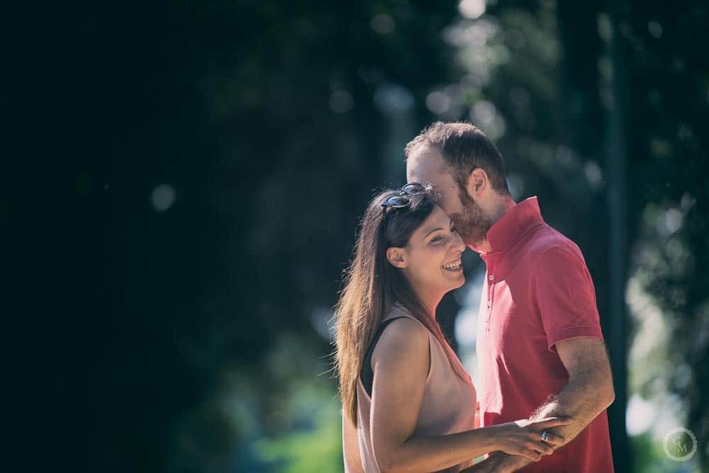 Fotografia di engagement Cascine di Tavola