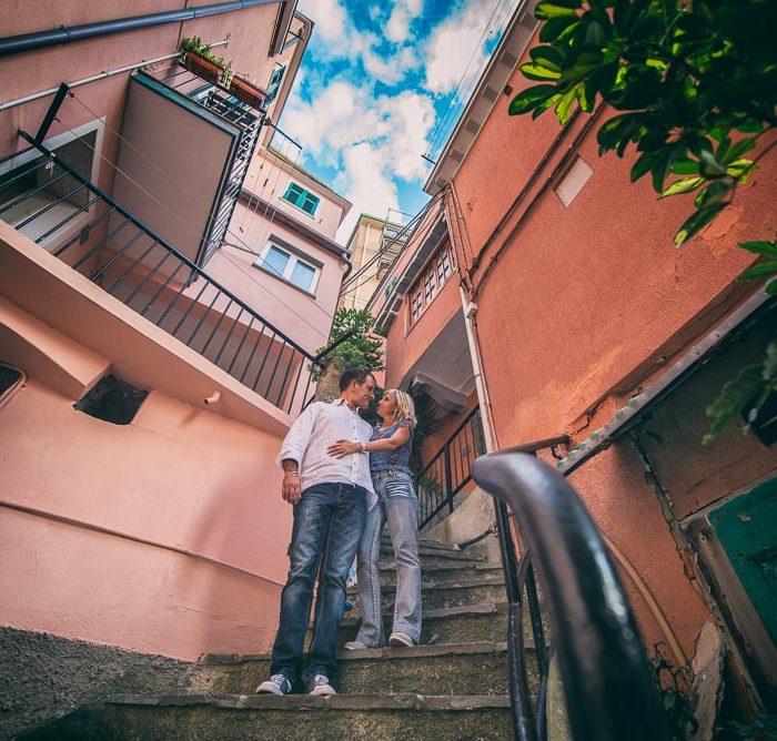 Engagement Manarola - Cinque Terre - Manuela+Federico