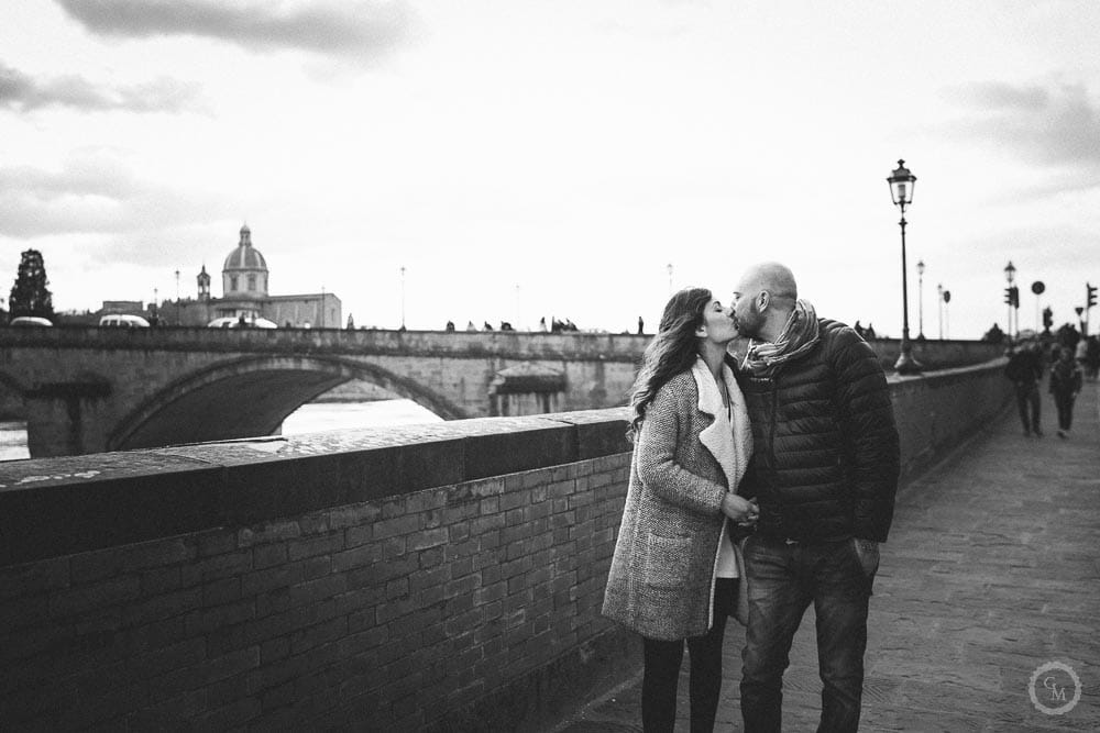 engagement lungarno firenze