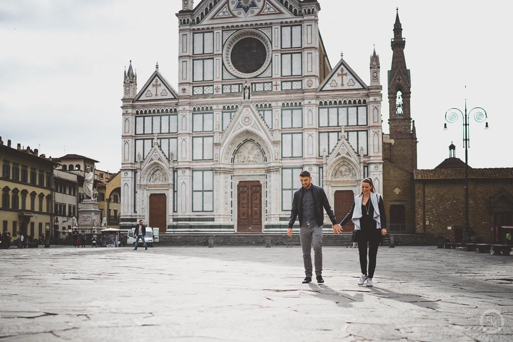 Engagement a Firenze