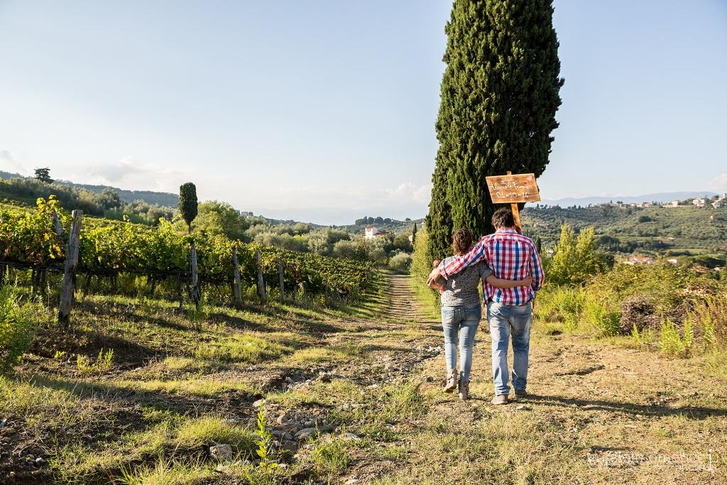 engagement vineyard tuscany