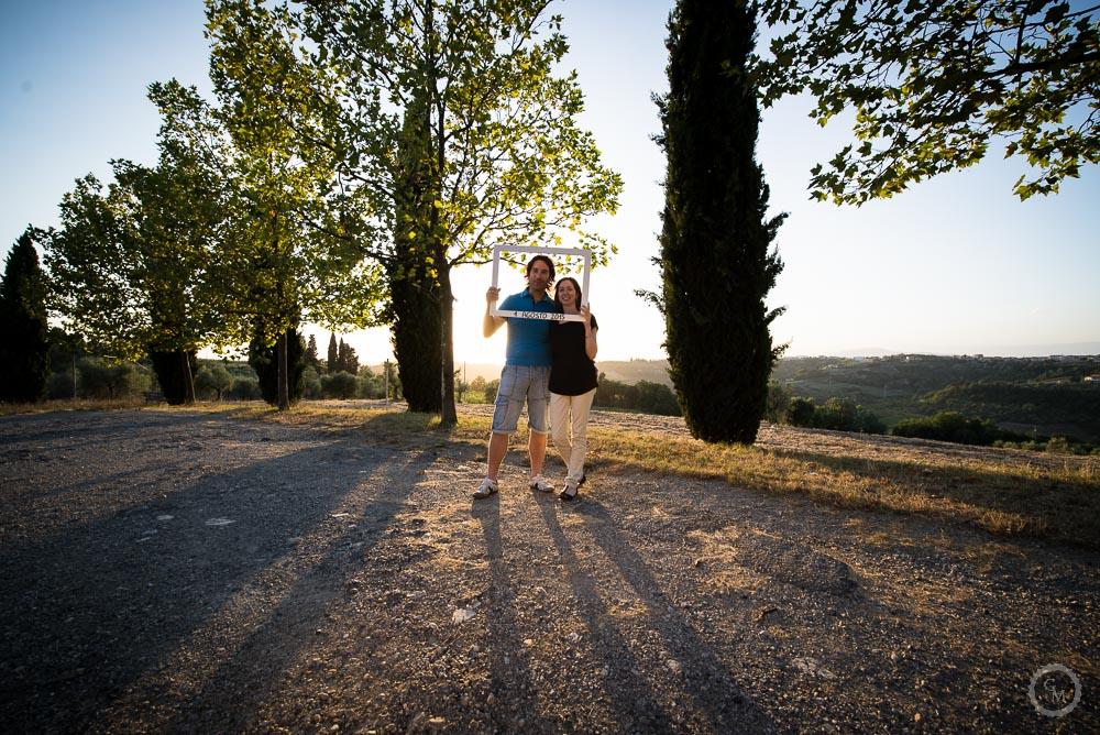Foto pre-matrimonio nel chianti firenze