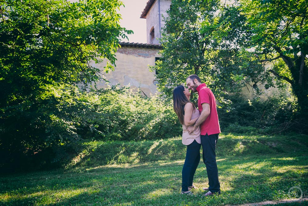 Engagement photo Prato