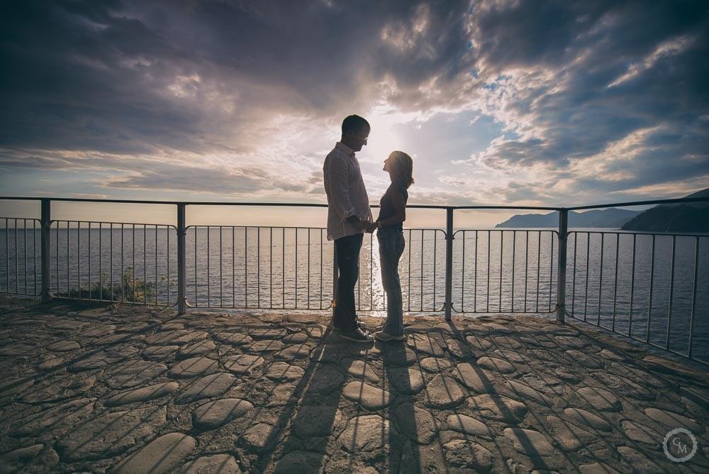 Fotografia di coppia Manarola