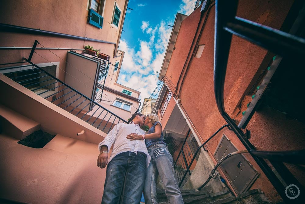 Engagement Photographer Manarola