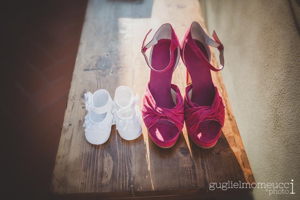 scarpe matrimonio prato
