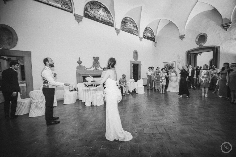 Matrimonio a villa artimino