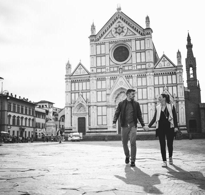 Engagement a Firenze - Giardino di Boboli