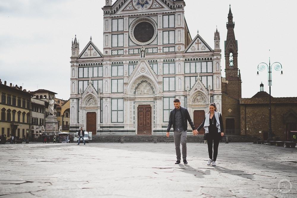 Engagement a Firenze