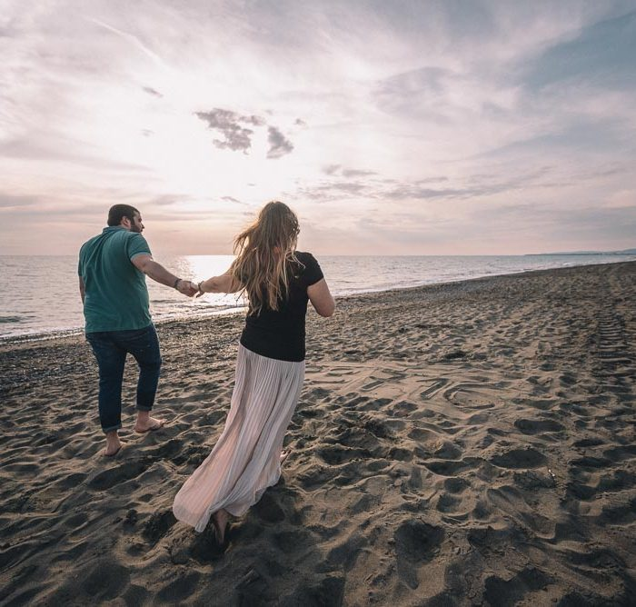 Engagement Photographer Tuscany - Marina di Bibbona