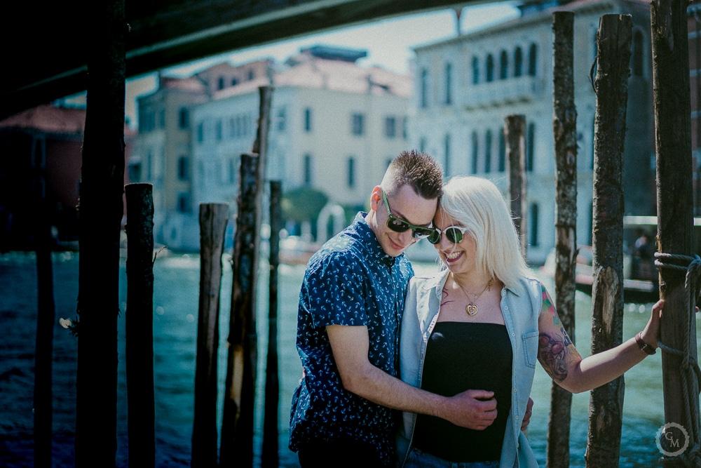 fotografo engagement venezia