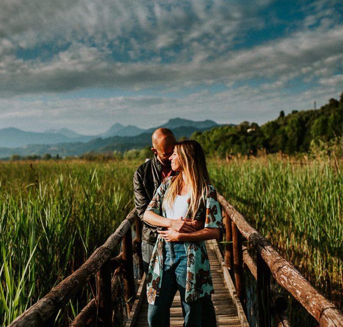 Versilia Photographer - Engagement at Massaciuccoli Lake